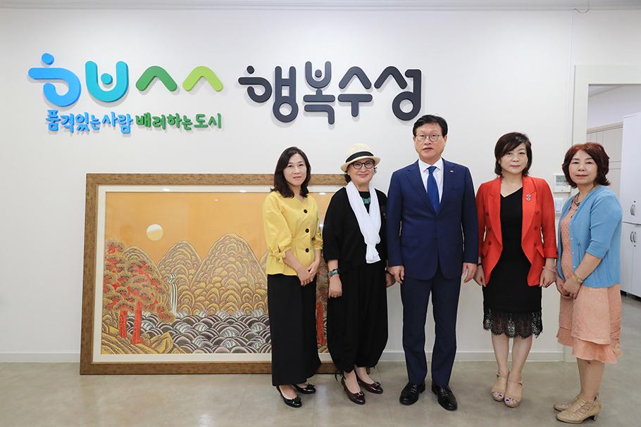 민화 기부 약정식(2019.08.28.) 5
